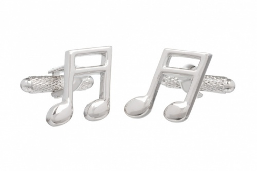 Semi Quaver Musical Note Cufflinks